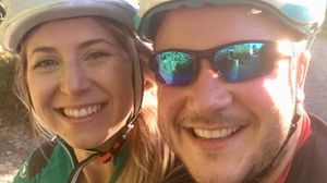 Dan Collier and partner (Pip) participate in 600 mile Charity cycle ride from Nice to Barcelona