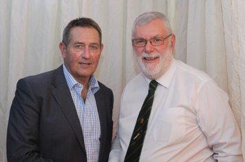 Graham Gooch with John Gale