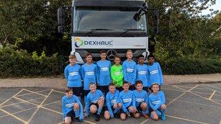 Dexhaul Ltd, supporting NTFC Cavaliers u12s