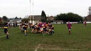 U15s edged out 33-36 in the New Forest