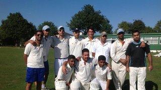 1st Team Winning Promotion - 2013