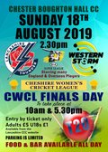 Lancashire Thunder v Western Storm & Cheshire Women's Finals Day, CBH 18 August