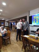 Winners all round at race night