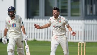 Jimmy Anderson at CBH, Lancs 2s v Durham 2s, 27-30 August 2019