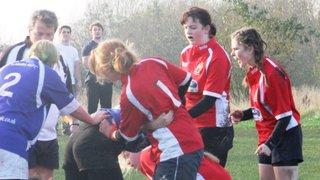 Manchester Girls U18's v Tyldesley Sun 13th Nov '11