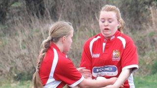 Manchester Girls U18s v Tyldesley Sunday 11th March 2012