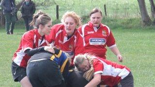 Manchester Girls U18's v West Park Leeds Sunday 15th April 2012