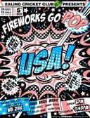 ECC's Fireworks Display 2016 - Fireworks Go Pop USA style!