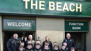 Boro's Beach Visit Bears Great Treasure