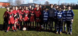 **DVRFC vs Bexley RFC - Under 10's. 7-6 Win**