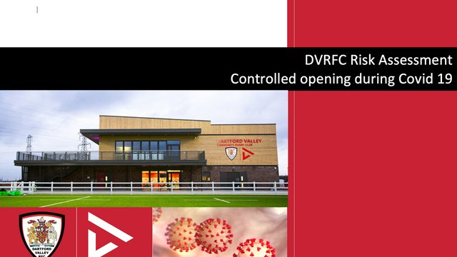 **Dartford Rugby Club - Updated Covid Risk Assessment Document - Tier 3 Restrictions & RFU Stage D-E & Training details**