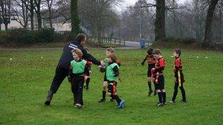 Under 8s Training 4th January 2015