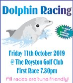 Dolphin Racing this Friday!