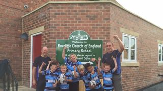 Ripon U8s - in the local news