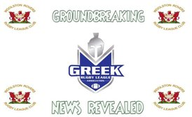 GREEK RUGBY LEAGUE FORMS PARTNERSHIP WITH WOOLSTON ROVERS RUGBY LEAGUE CLUB