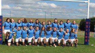 Mansfield U15 Girls Represent Midlands RFU