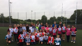 Success at Primary Schools Touch Rugby Festival