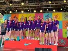 SILVER  for the U19s at the London youth games summer finals