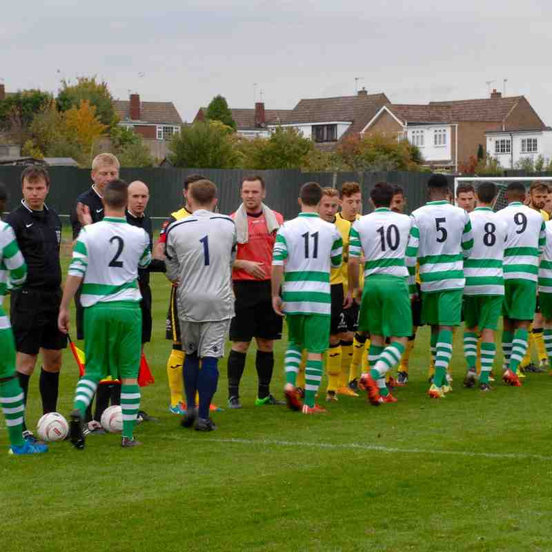 Waltham Abbey v Great Wakering Sat 24th Oct 2015