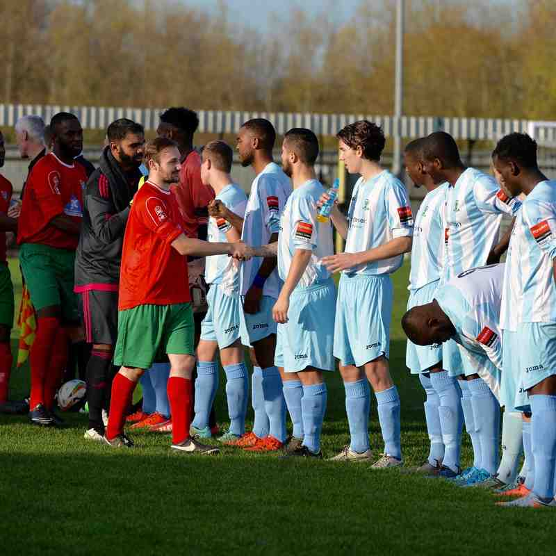 Chalfont St Peter v Waltham Abbey FA Trophy Sat 31st Oct 2015