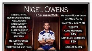 A Night With...Nigel Owens