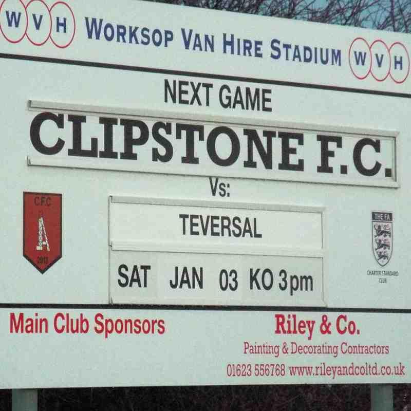 20150103 - Clipstone FC v Teversal FC