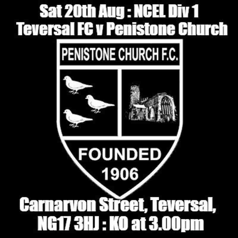 20160820 - Teversal FC v Penistone Church