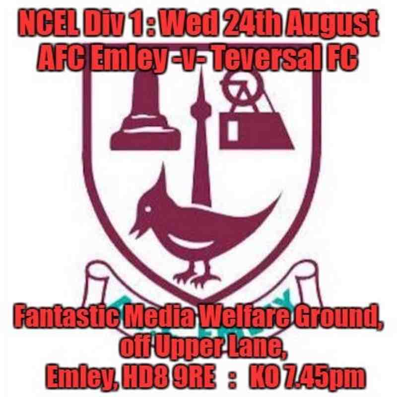 20160824 - AFC Emley v Teversal FC