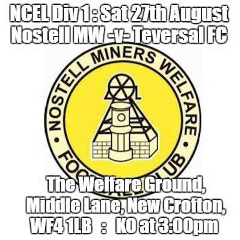 20160827 - Nostell Miners Welfare v Teversal FC