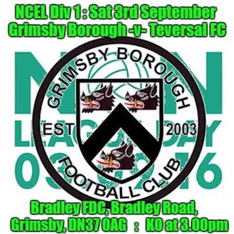 20160903 - Grimsby Borough v Teversal FC