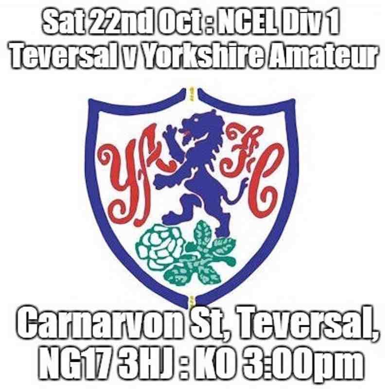 20161022 - Teversal FC v Yorkshire Amateur
