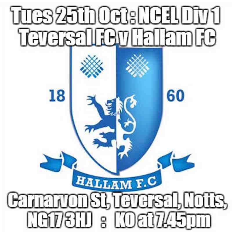 20161025 - Teversal FC v Hallam FC