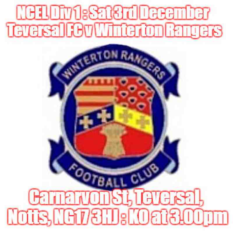 20161203 - Teversal FC v Winterton Rangers