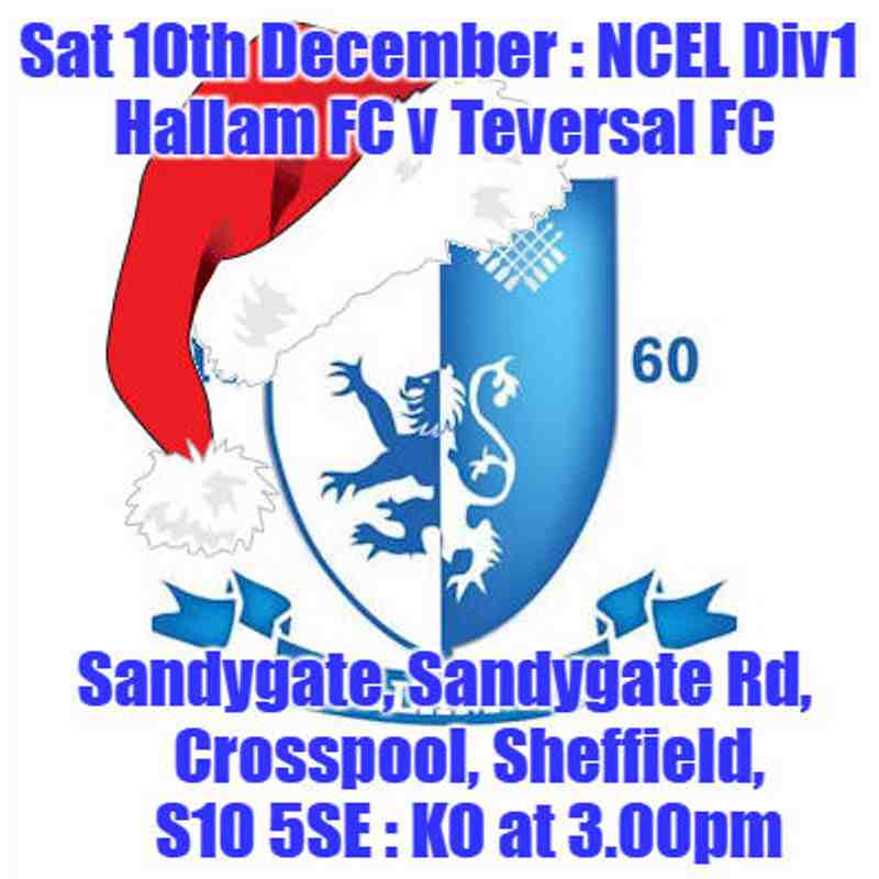20161210 - Hallam FC v Teversal FC