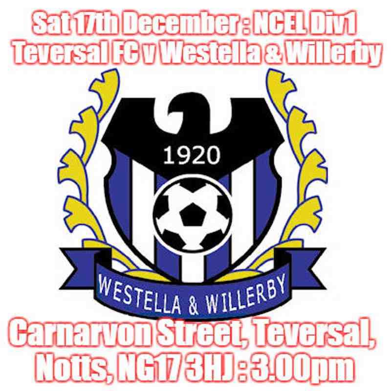 20161217 - Teversal FC v Westella & Willerby