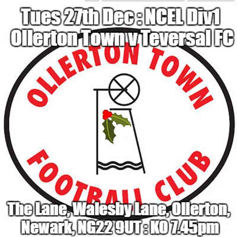 20161227 - Ollerton Town v Teversal FC
