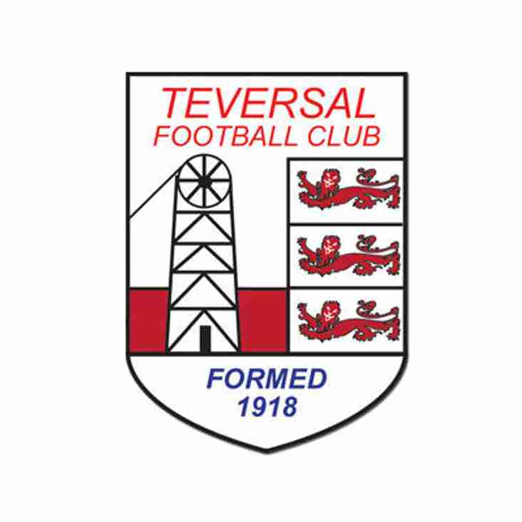 Teversal FC Youth & Ladies : Weekend Fixtures