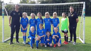 Teversal U11 girls