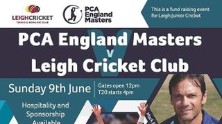 PCA England Masters @ Leigh Cricket Club ~ 9th June
