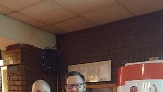 Congratulations to Nathan Wilson and Chris Marsh on receiving the RFU Volunteer Award