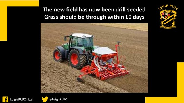 New Field Drill Seeded