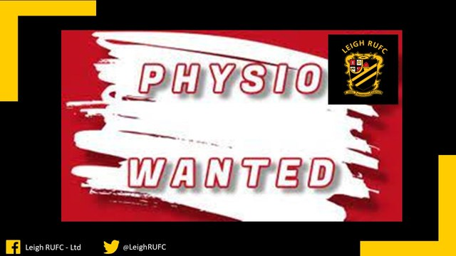 Physios Wanted