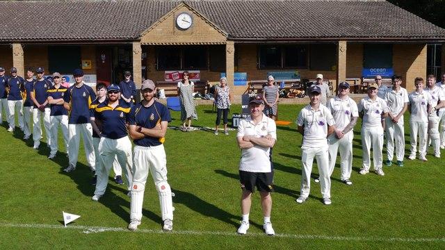 The Next Scheduled Cricket Match on this ground .........