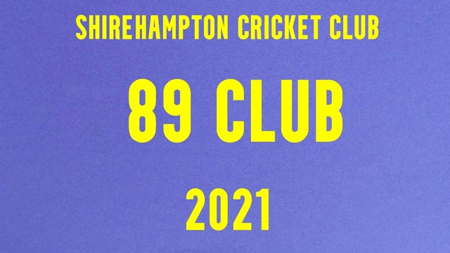 89 Club Winners - 2021