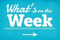 What's on this week...