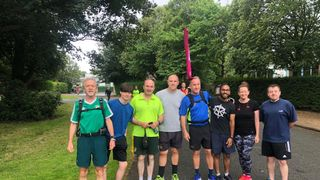 Saturday morning triumph for the Park Runners