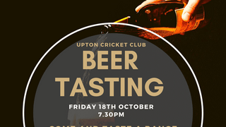 Beer Tasting - Friday 18th October