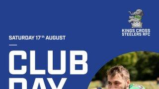 Preseason Club Day