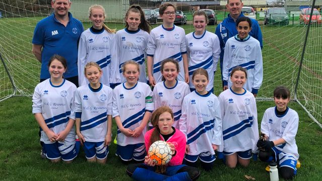 League Shield Q/F Harvesters vs Hitchin Belles U12 Blues
