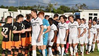 Truro City v Exeter City (1-2) Friendly 21st July 2016